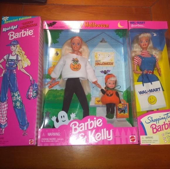 Mattel Other Barbie Lot Halloween Koolaid And Shopping Poshmark
